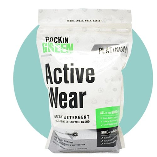 ROCKIN' GREEN PLATINUM ACTIVE WEAR LAUNDRY DETERGENT