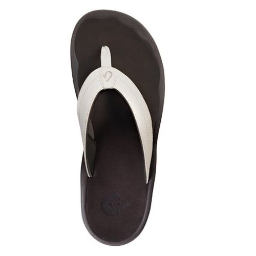 OLUKAI OHANA LADIES SANDALS, WHITE