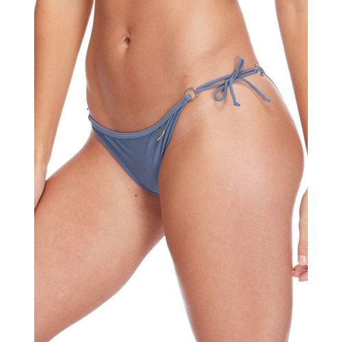 BODY GLOVE WOMENS BRASILIA RUCHED BIKINI BOTTOM, STORM