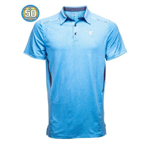WHITE WATER NAVIGATOR S/S POLO, SKY BLUE
