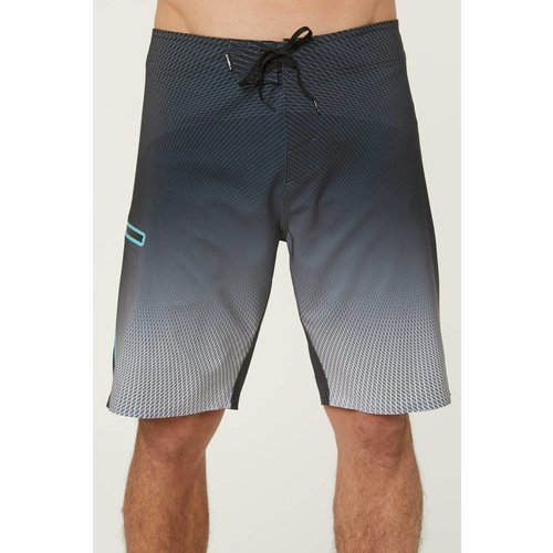 ONEILL MENS HYPERFREAK ZODIAC MENS BOARDSHORTS, BLACK