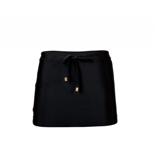 SNAPPER ROCK LADIES BLACK SWIM SKIRT
