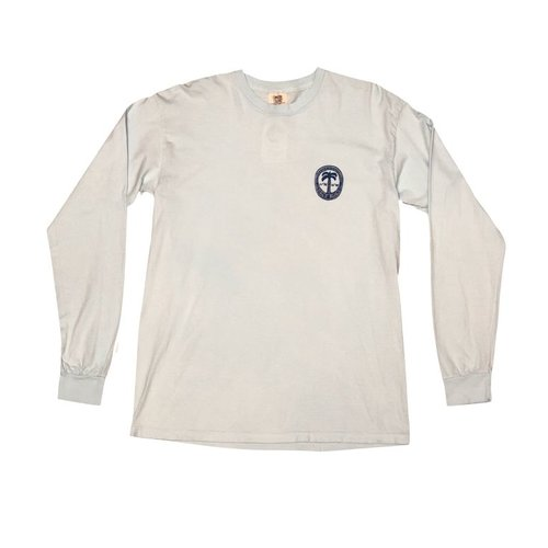 BIG HED DUSTY PALM L/S TEE, JENSEN BEACH