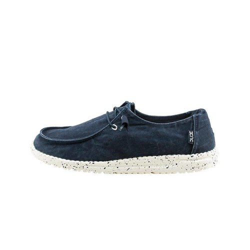 HEY DUDE SHOES WENDY LADIES SHOES, NAVY