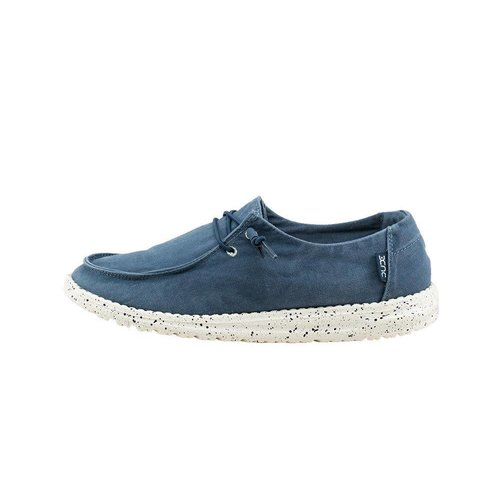 HEY DUDE SHOES WENDY LADIES SHOES, STEEL BLUE