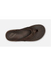 NUI MENS SANDALS, ESPRESSO