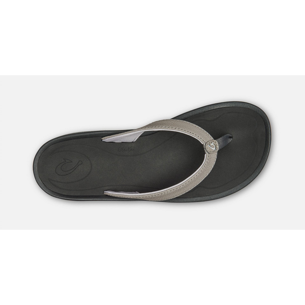KULAPA KAI LADIES SANDALS, FOG/BLACK