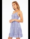 THE SPRING DRESS, CRYSTAL BLUE NAVY