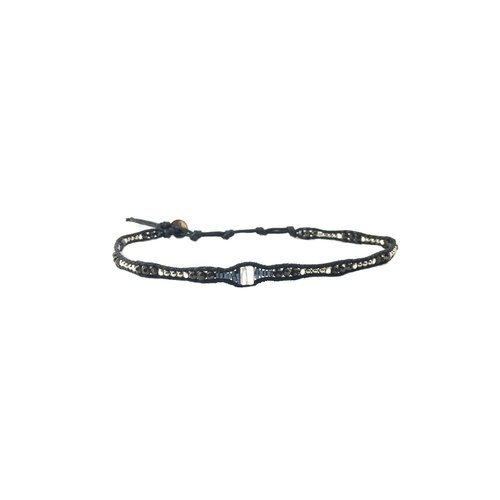 """LOTUS AND LUNA """"QUEEN OF THE NORTH"""" CHOKER / DBL WRAP BRACELET"""