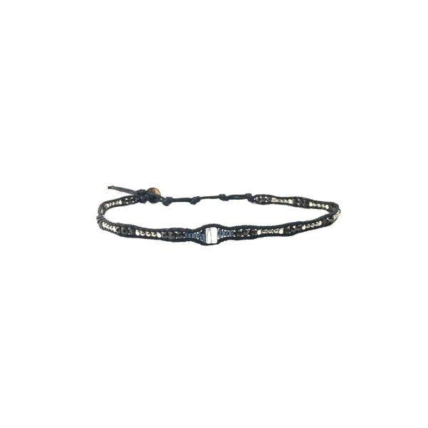 """""""QUEEN OF THE NORTH"""" CHOKER / DBL WRAP BRACELET"""