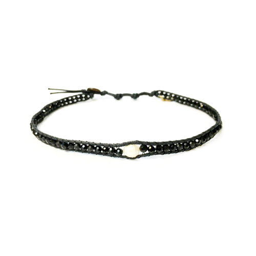 "LOTUS AND LUNA ""STAY CLASSY"" CHOKER / DOUBLE WRAP BRACELET"