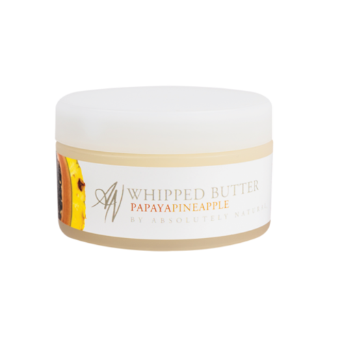 ABSOLUTELY NATURAL PAPAYA PINEAPPLE WHIPPED BODY BUTTER