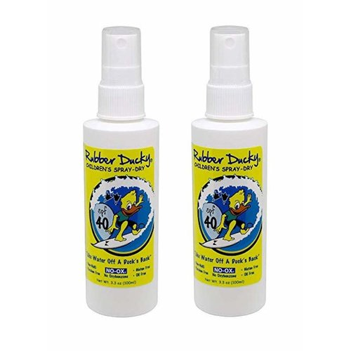RUBBER DUCKY ZINC SPRAY DRY CLEAR 3.3 OZ, CHILDRENS