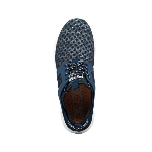 HEY DUDE SHOES MISTRAL NAVY MELANGE MENS SHOES