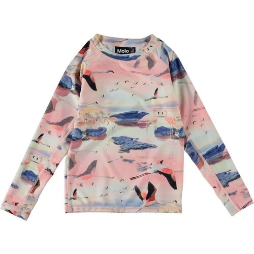 MOLO FLAMINGO L/S RASH TOP