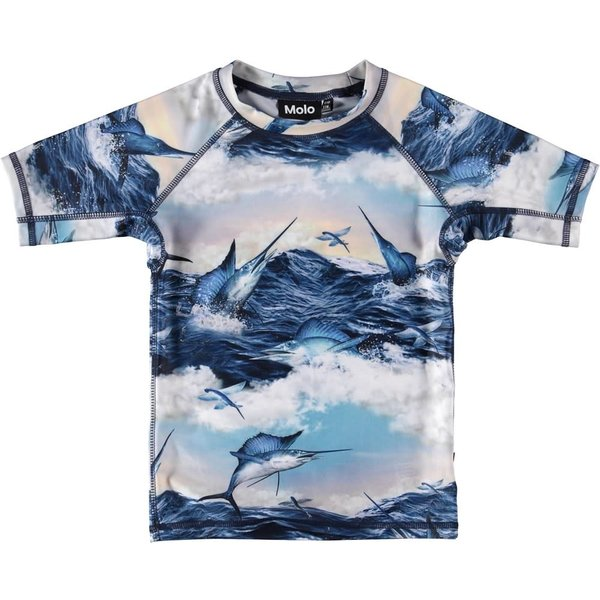 NEPTUNE JUMPING SWORDFISH S/S RASH TOP