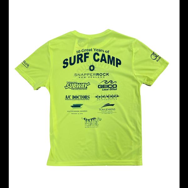 CAMP 2019 SHIRTS, NEON YELLOW