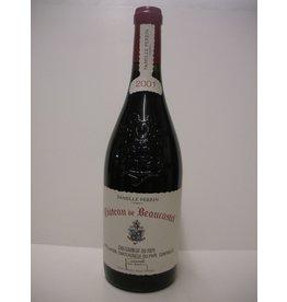 Ch Beaucastel ChNDP 2001