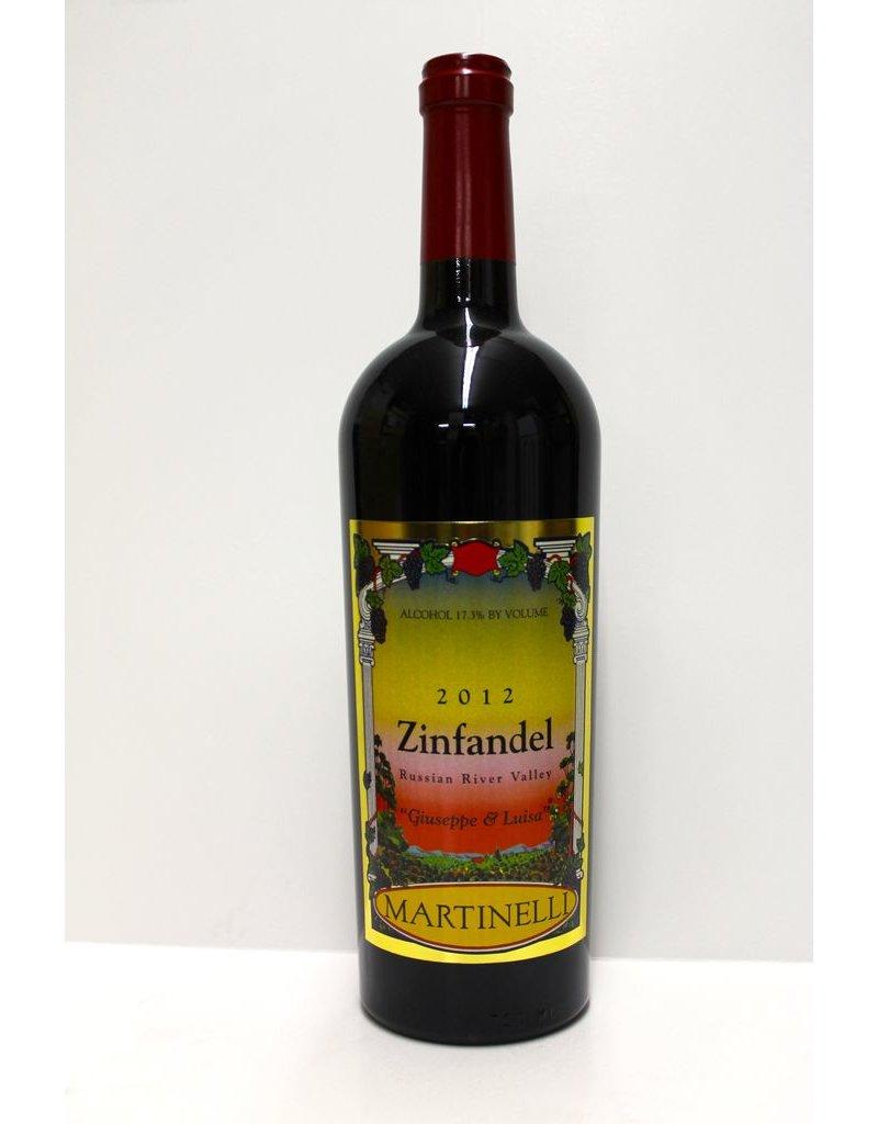 "Martinelli Zinfandel ""Giuseppe and Luisa"""