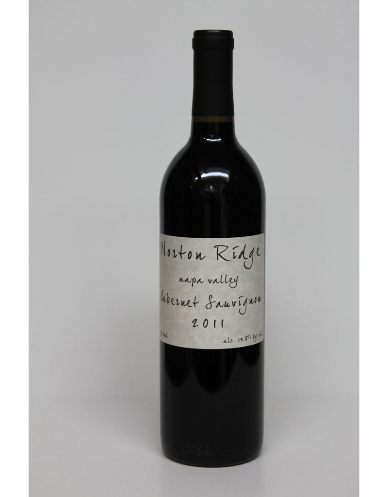Norton Ridge Wine Company Napa Valley Cabernet Sauvignon 2013