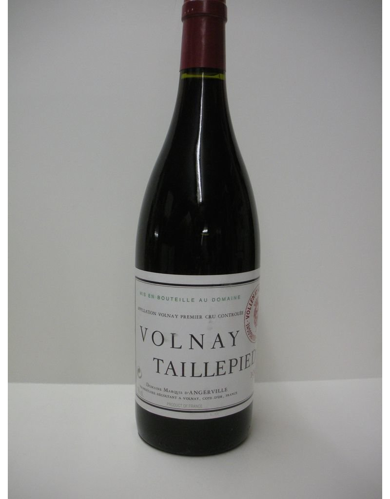 Dom Marquis D'Angerville Taillepieds Volnay 1er Cru 1998