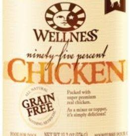 Wellpet LLC Wellness Dog GF 95% Chicken K9 13.2z
