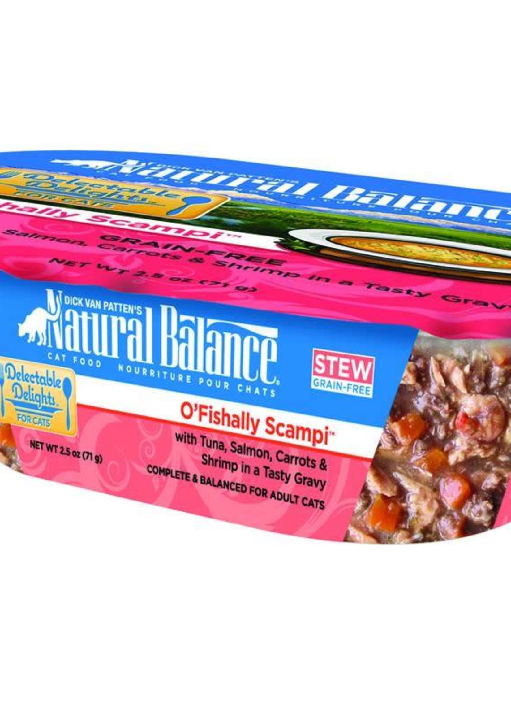 Natural Balance Pet Foods, Inc. Natural Balance Delectable Delights O'Fishally Scampi Stew Fel 2.5oz