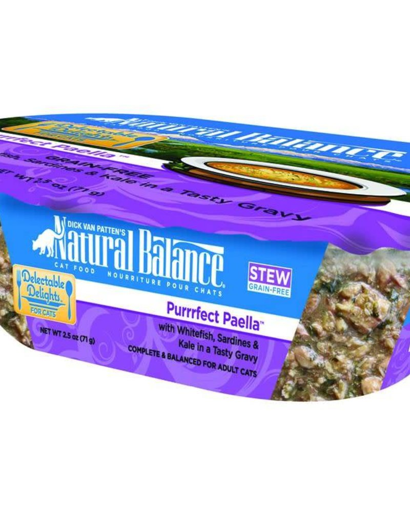 Natural Balance Pet Foods, Inc. Natural Balance Delectable Delights Purrfect Paella Stew Fel 2.5oz