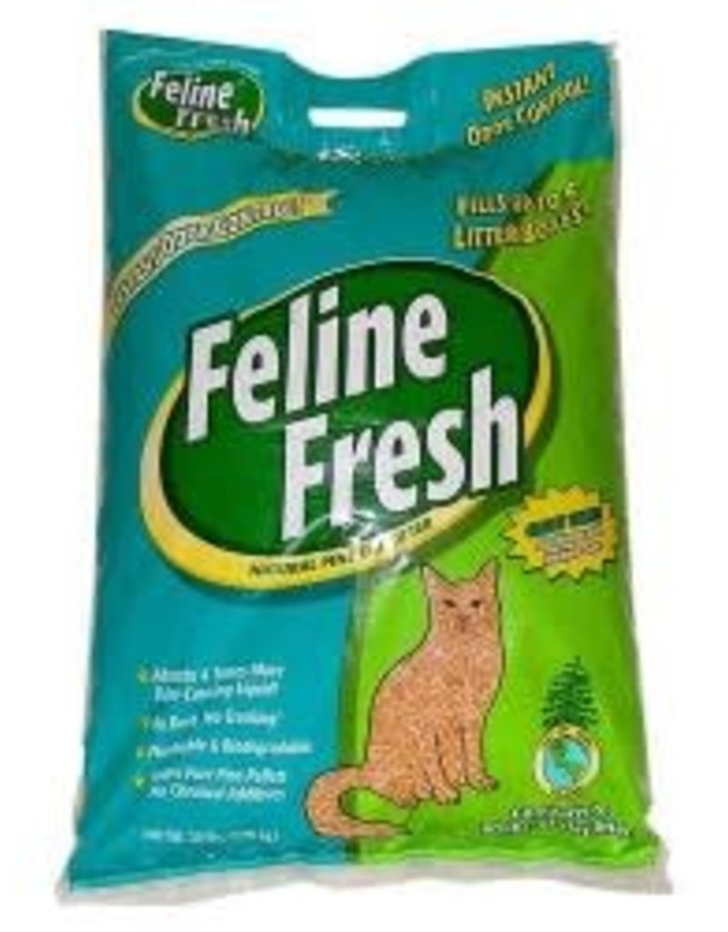 PLANET WISE PRODUCTS Feline Fresh Natural Pine Pellet Litter Fel 20#