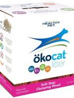 HEALTHY PET Okocat PINK Soft Step Clumping Wood Fel 16.7#