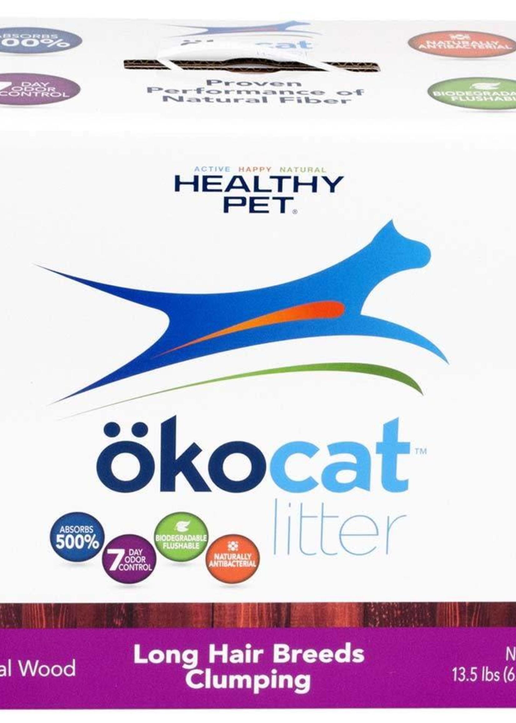 HEALTHY PET Okocat PURPLE Wood Long Hair Breeds Clumping 20#