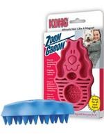 The Kong Company Kong Zoom Groom Raspberry Regular