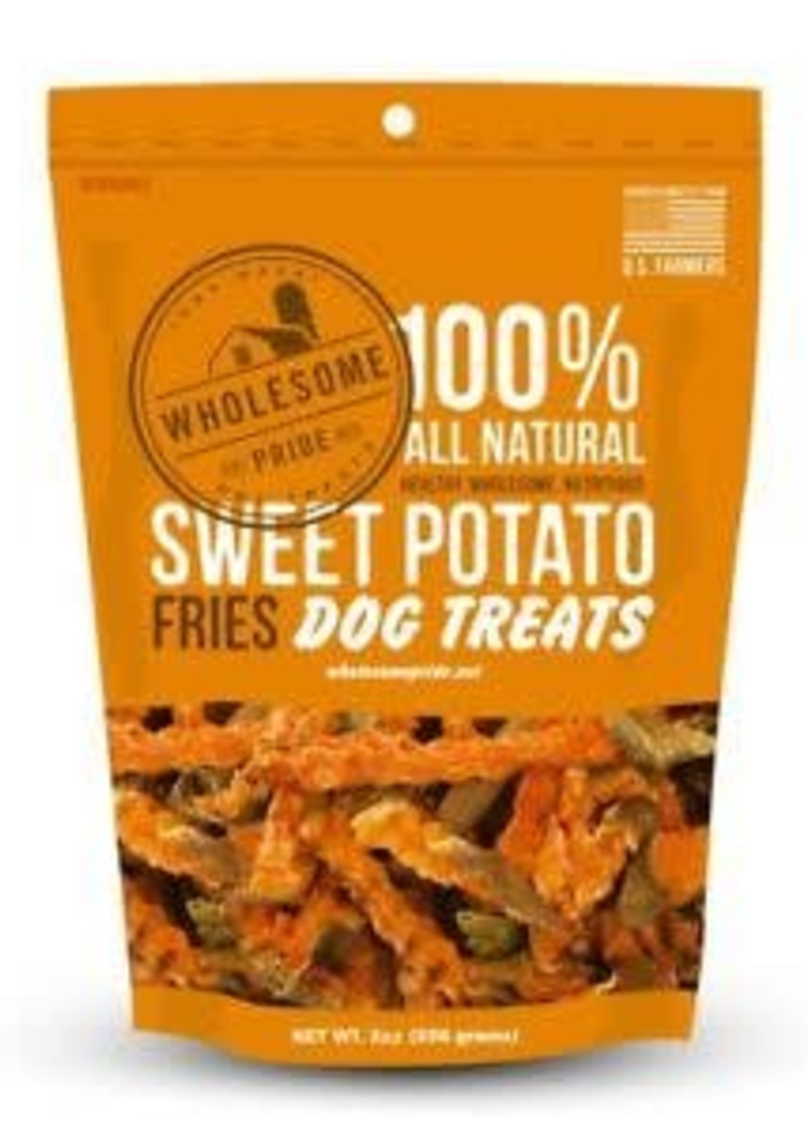 Wholesome Pride Pet Wholesome Sweet Potato French Fries Dog Treats 8 oz