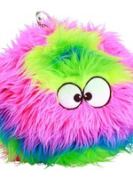 GO DOG GoDog Furballz Dog Toy Rainbow Lg