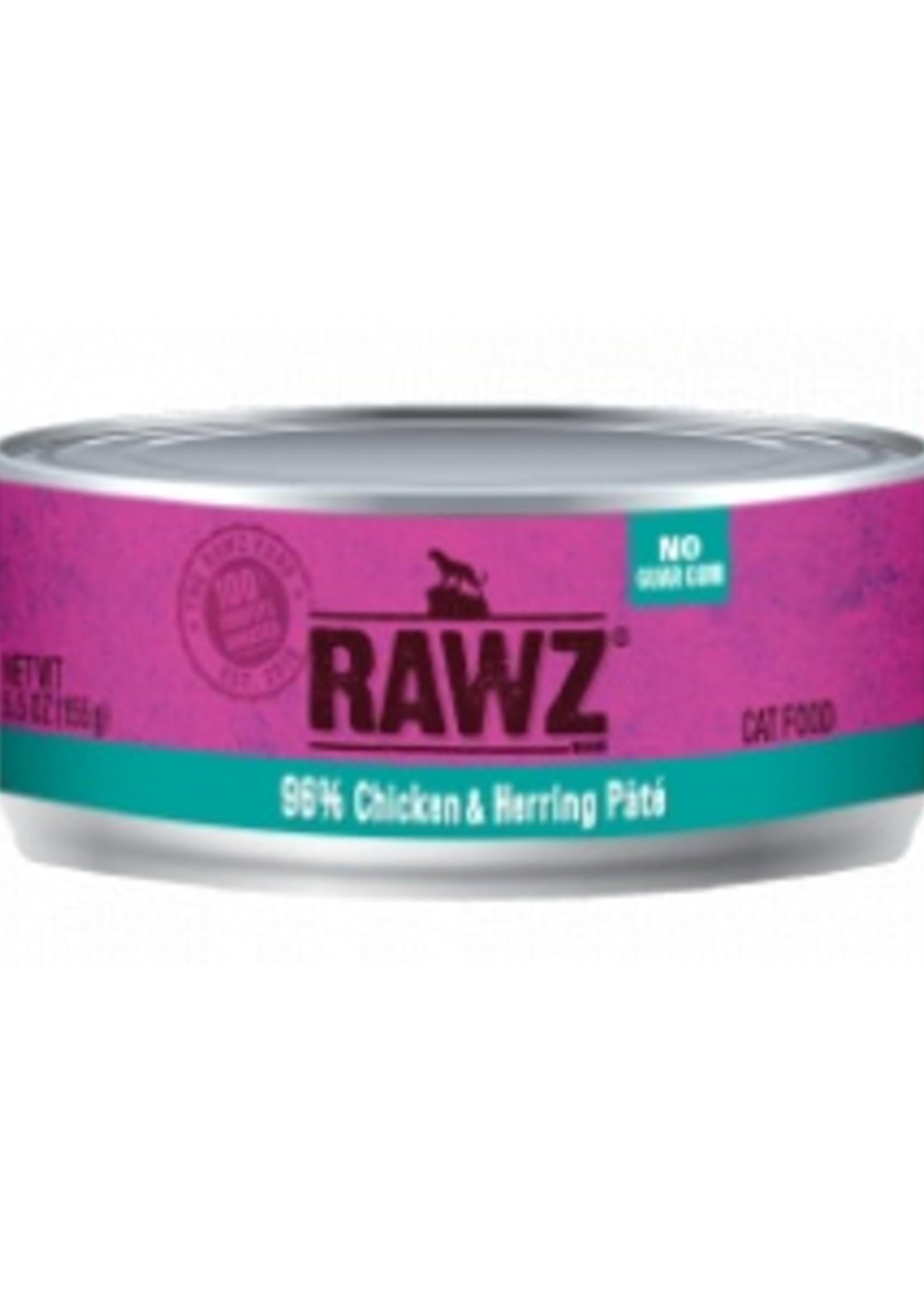 RAWZ RAWZ 96% Chicken/Herring CAT 5.5 OZ
