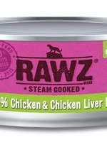 RAWZ RAWZ 96% Chicken/Liver CAT 5.5 OZ