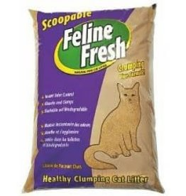 PLANET WISE PRODUCTS Feline Fresh Clumping Pine Formula 17#