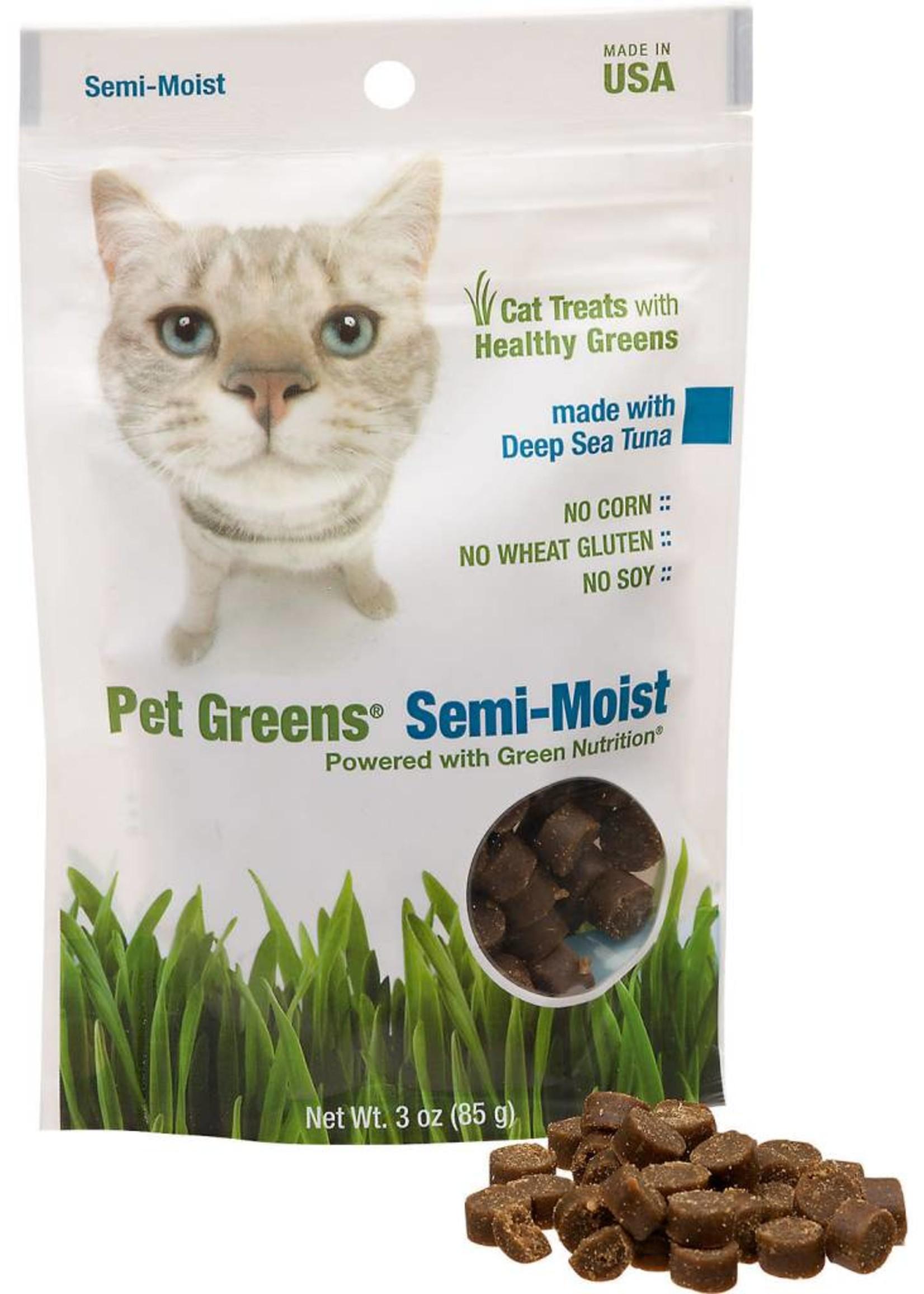 BELLROCK GROWERS INC Pet Greens Semi-Moist Tuna 3oz