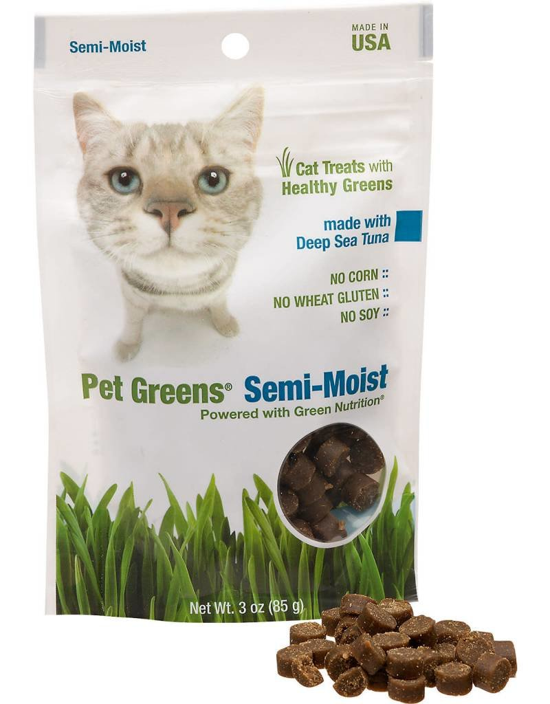 BELLROCK GROWERS INC Pet Greens Semi-Moist Tuna 3oz