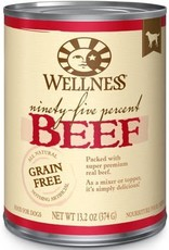 Wellpet LLC Wellness GF 95% Beef K9 13.2oz