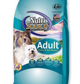 Tuffy's Pet Foods Inc./NutriSource NutriSource Dog Dry Chicken and Rice 30 lbs