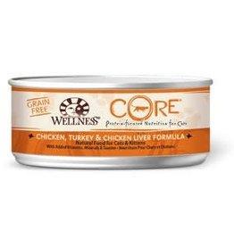 Wellpet LLC Wellness Core Chicken, Turkey, and Liver Formula Fel 5.5z