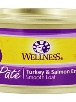 Wellpet LLC Wellness Turkey and Salmon Formula Fel 5.5 oz