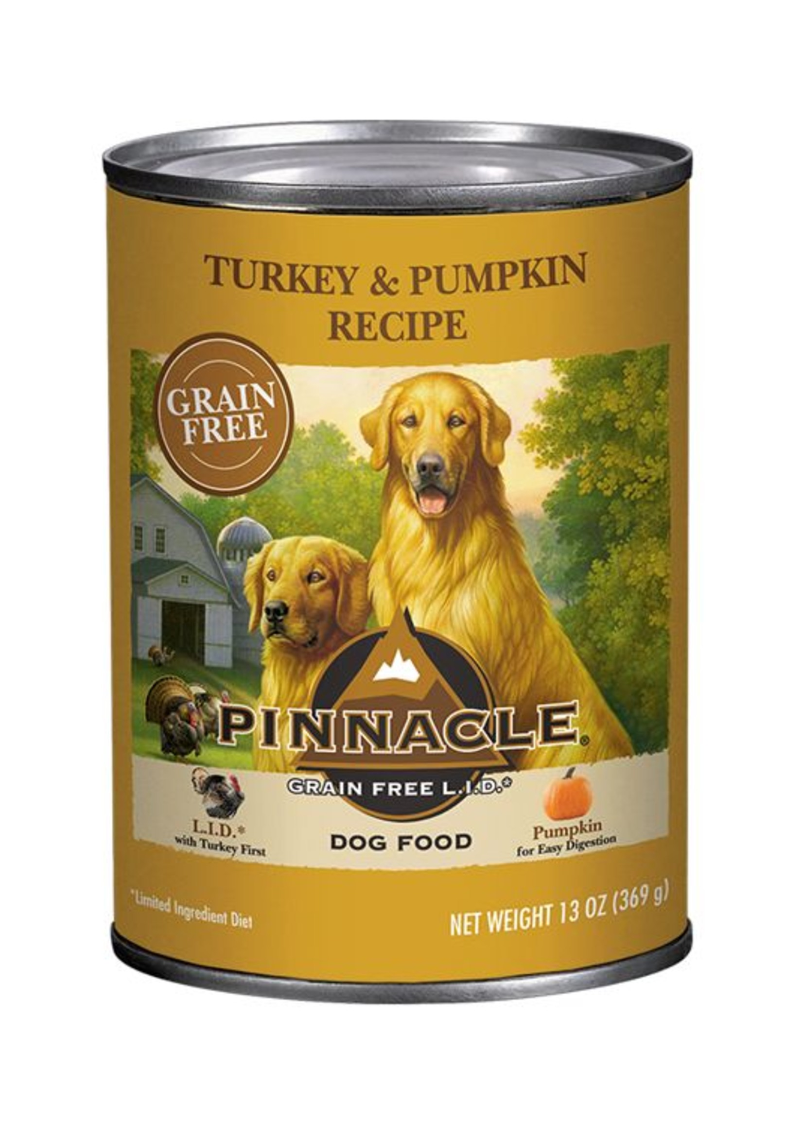 Pinnacle by Breeder's Choice Pinnacle Dog Can Turkey and Pumpkin 13 oz