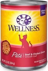 Wellpet LLC Wellness Beef and Chicken Formula Fel 12.5oz