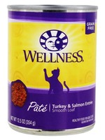 Wellpet LLC Wellnesss Turkey & Salmon Formula Fel 12.5oz