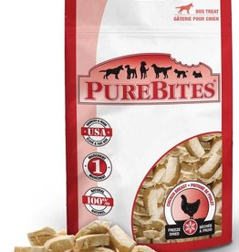 PUREBITES PureBites 100% USDA Freeze Dried Chicken Breast Dog Treats 1.4oz