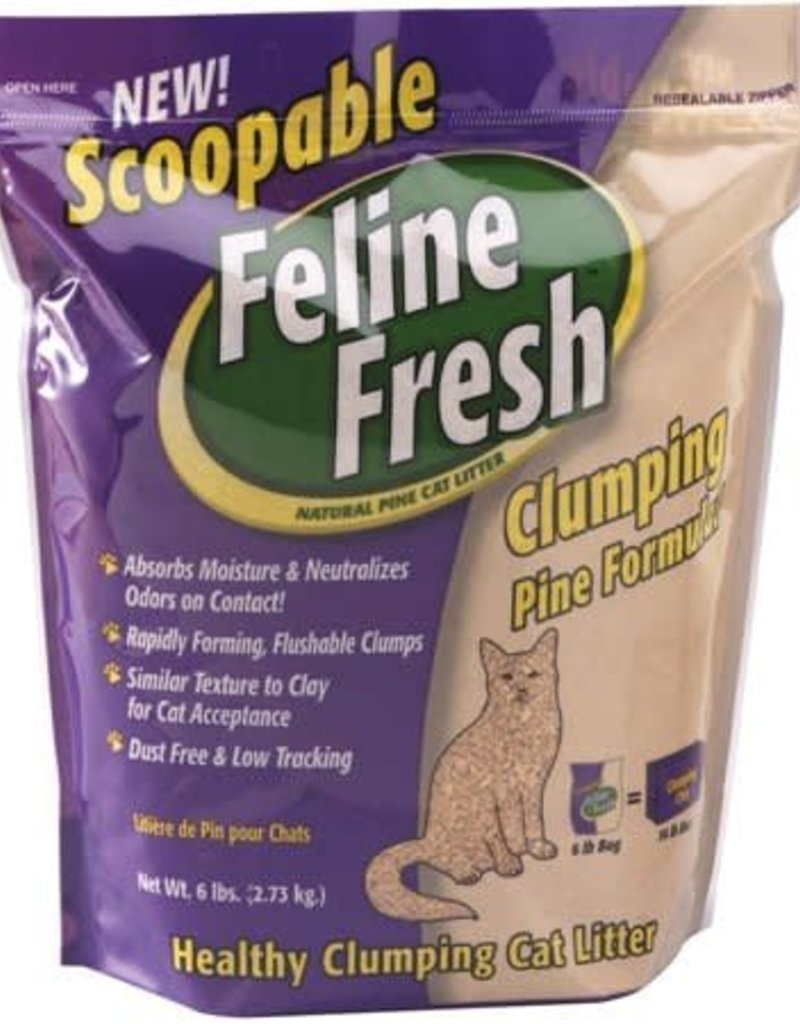 PLANET WISE PRODUCTS Feline Fresh Clumping Pine Formula 6#