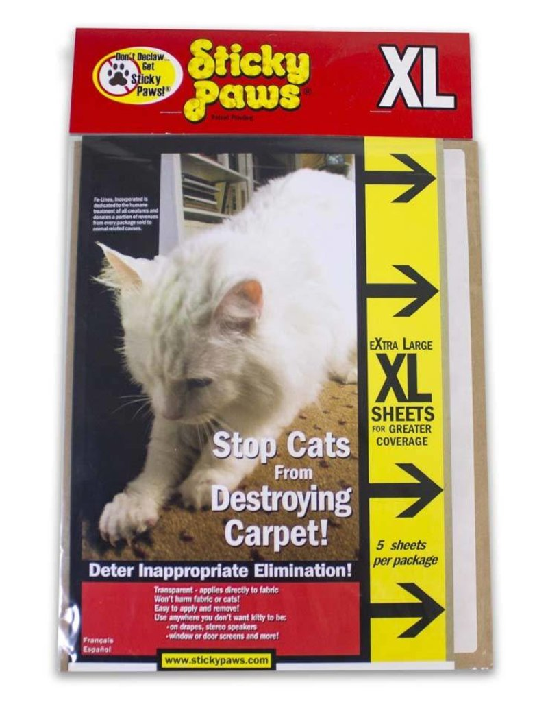 PIONEER PET PRODUCTS LLC Sticky Paws XL 5 Sheets