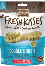 Merrick Pet Care, Inc. Merrick Fresh Kisses Mint-Flavored Breath Strips Med 6 ct
